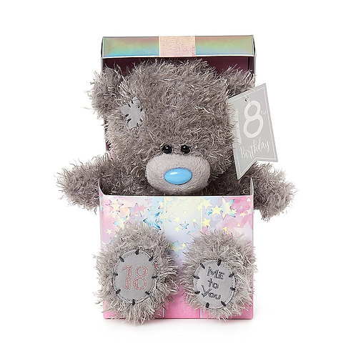 18th birthday Me To You Teddy in a Box