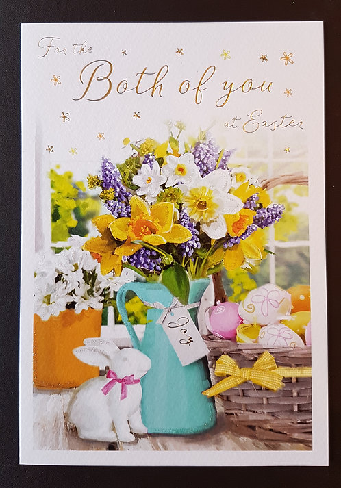 Both of You - Easter Greeting Card