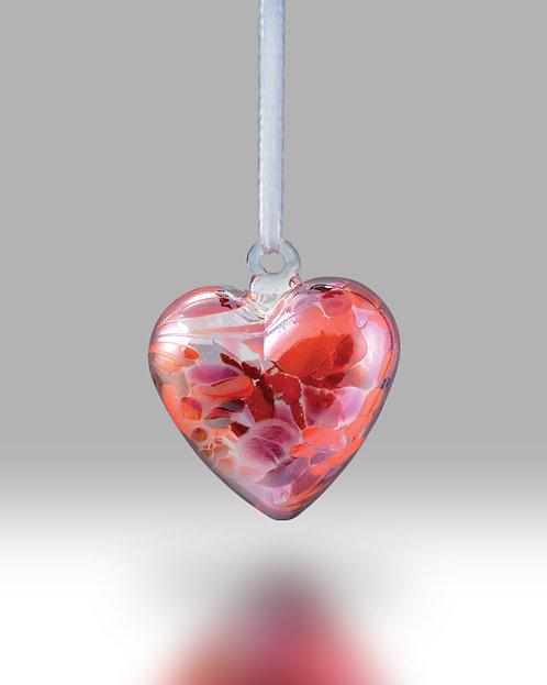 July Birth Gem Heart Nobile Glassware Friendship Ball
