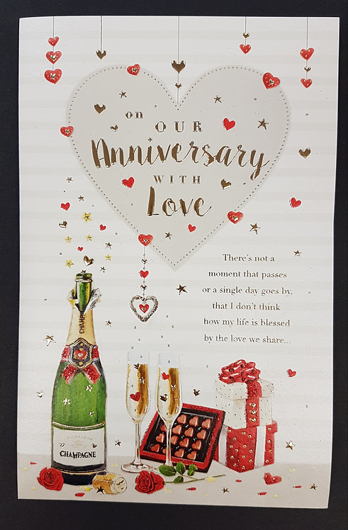 Anniversary - On Our Anniversary Greeting Card