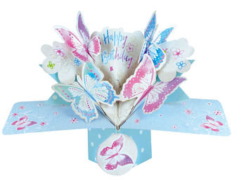 Butterflies Pop Up Greeting Card