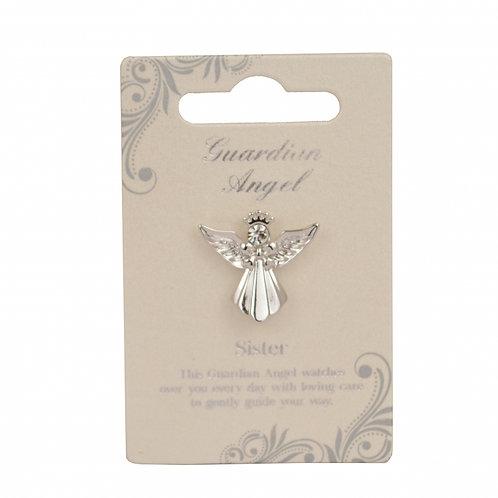 Guardian Angel Pin - Sister