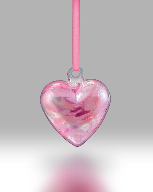 October Birth Gem Heart Nobile Glassware Friendship Ball