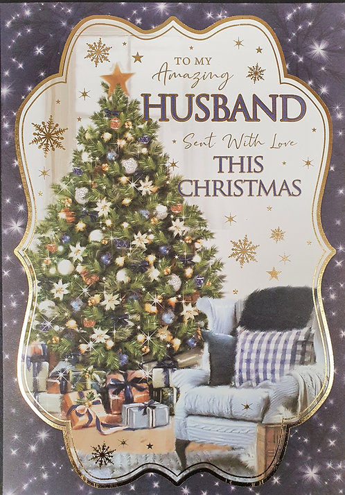 Husband Christmas Greeting Card