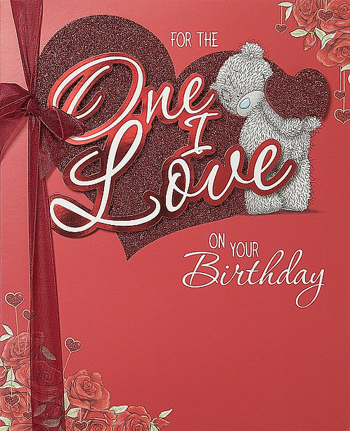 One I Love Birthday - Me to You