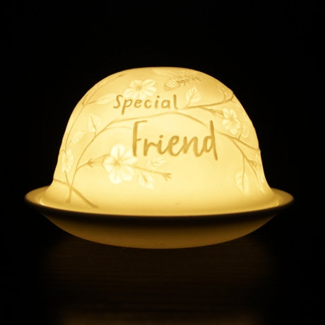 Nordic Light Candle Shade For A Special Friend