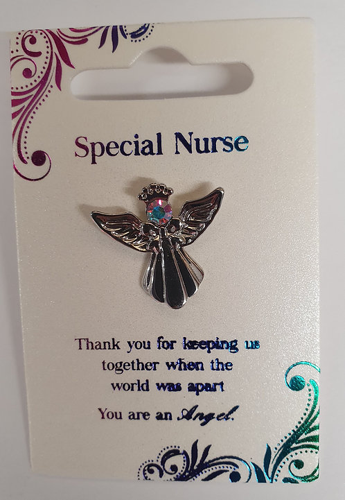 Guardian Angel Pin - Special Nurse