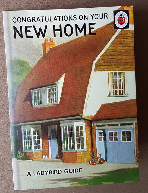 A Ladybird Guide to a New Home Greeting Card