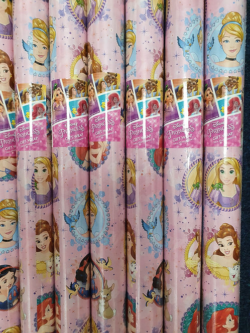 2m Giftwrap - Disney Princess
