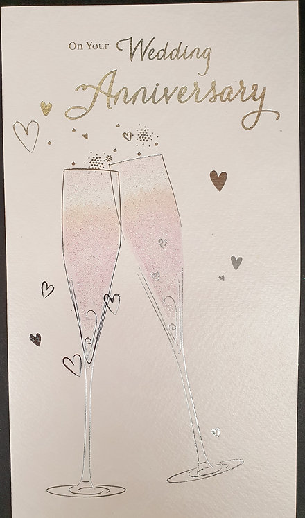 On Your Wedding Anniversary Greeting Card