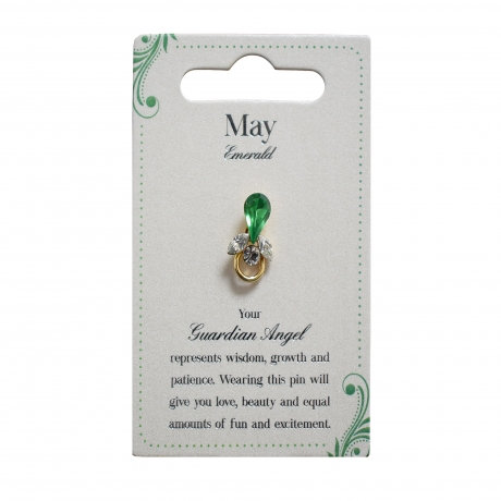 Guardian Angel Pin - May