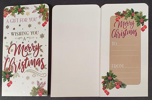 Christmas Money Wallet - Merry Christmas