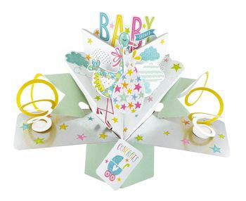 Baby Shower Pop Up Greeting Card