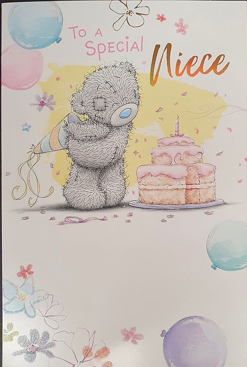 Special Niece Birthday Greeting Card By Me To You Tatty Teddy