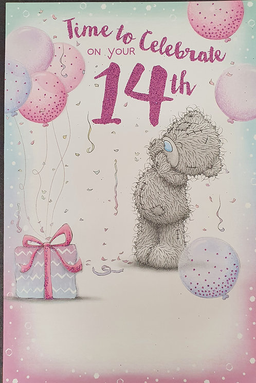 14th Birthday - Me To You Greeting Card