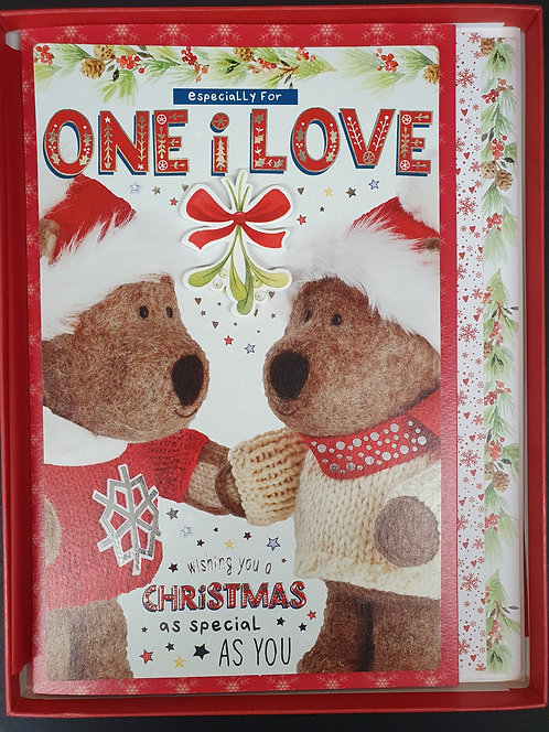 One I Love Christmas Boxed Greeting Card