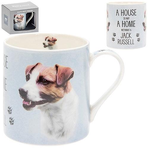 House and Home Fine China Mug - Jack Russell