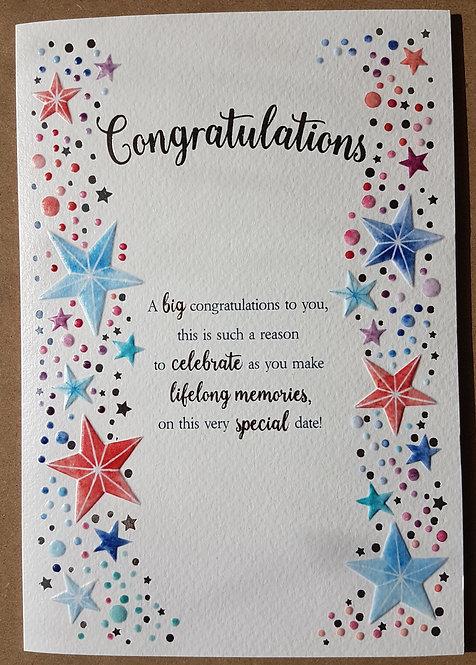 Eternal Range - Congratulations Card