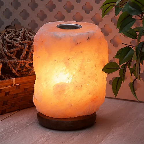 Himalayan Salt Lamp Candle Holder or Wax Melt