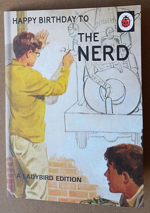 Ladybird Edition, The Nerd - Greeting Card