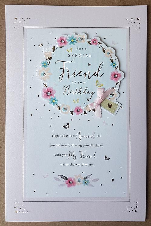 Female Friend Birthday Greeting Card