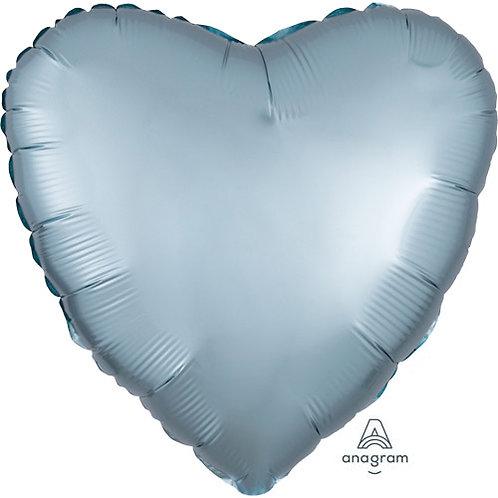 "18"" Pastel Blue Heart -  Anagram Balloon - Helium Filled"