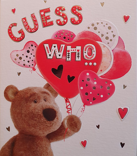 Valentine's Day Card - Guess Who...