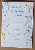 greeting card sympathy eternal range