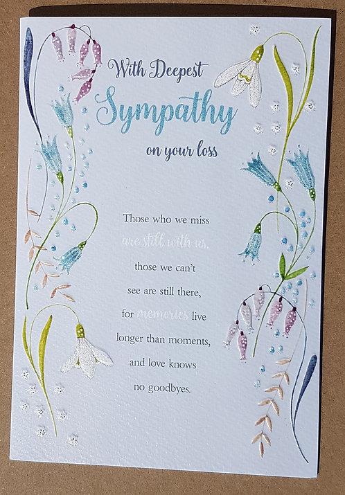 Eternal Range - Deepest Sympathy Card