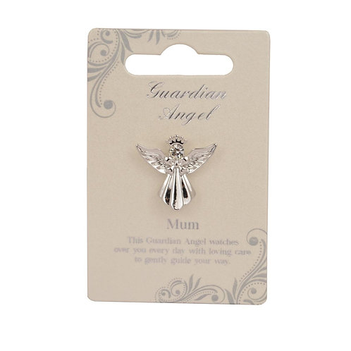 Guardian Angel Pin - Mum