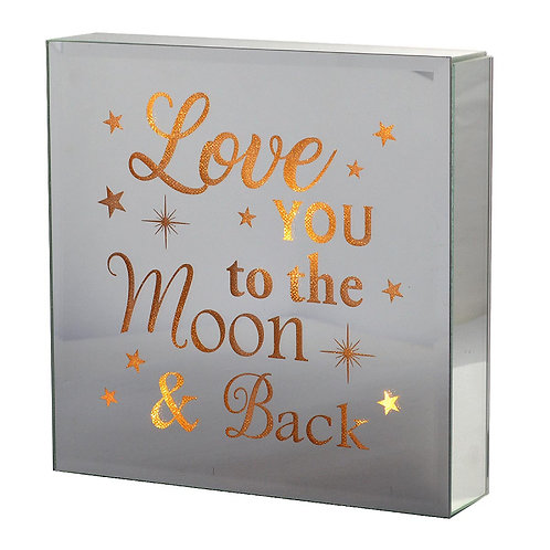 Light Up Block - Love You To The Moon And Back