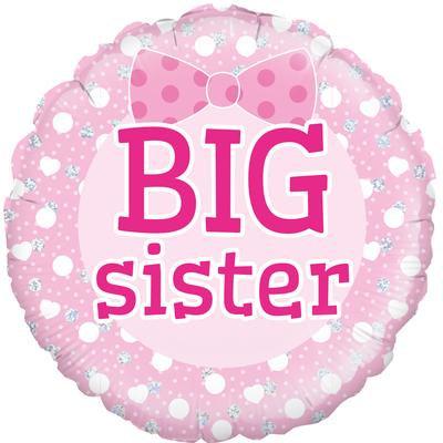 "18"" Big Sister Balloon - Helium Filled"