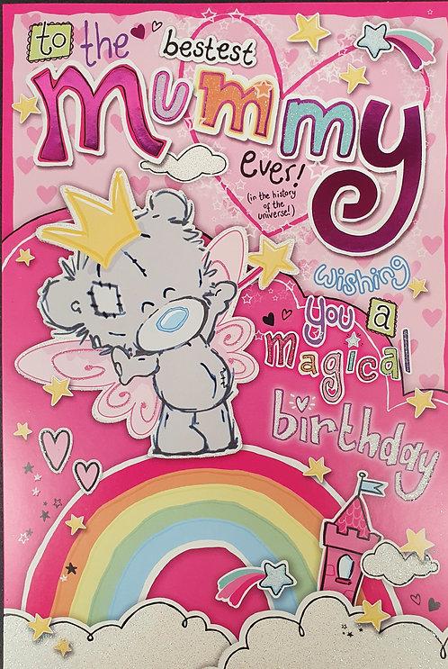 Mummy Birthday Card - Me To you Dinky Bear