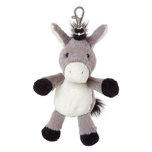 Cleo The Donkey All Creatures Plush Keyring