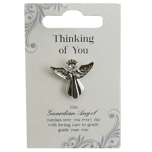 Guardian Angel Pin - Thinking Of You