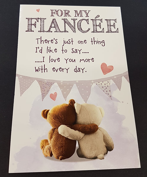 Fiancee Birthday Card
