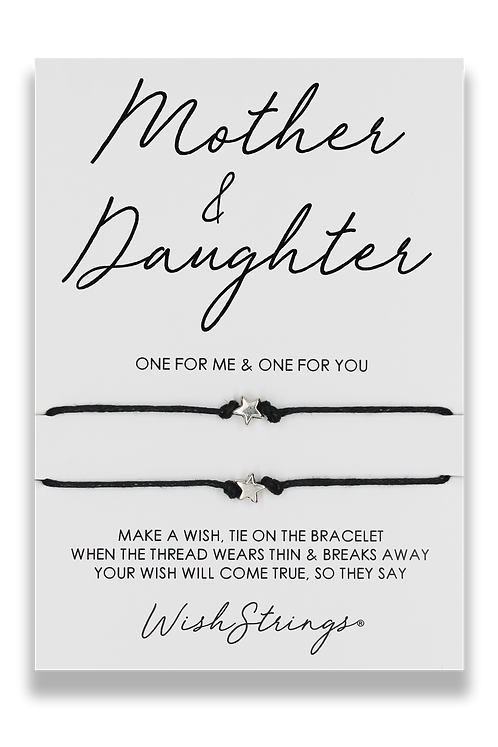WishStrings Duo Bracelet - Mother & Daughter