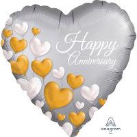 "18"" Happy Anniversary Balloon - Helium Filled"
