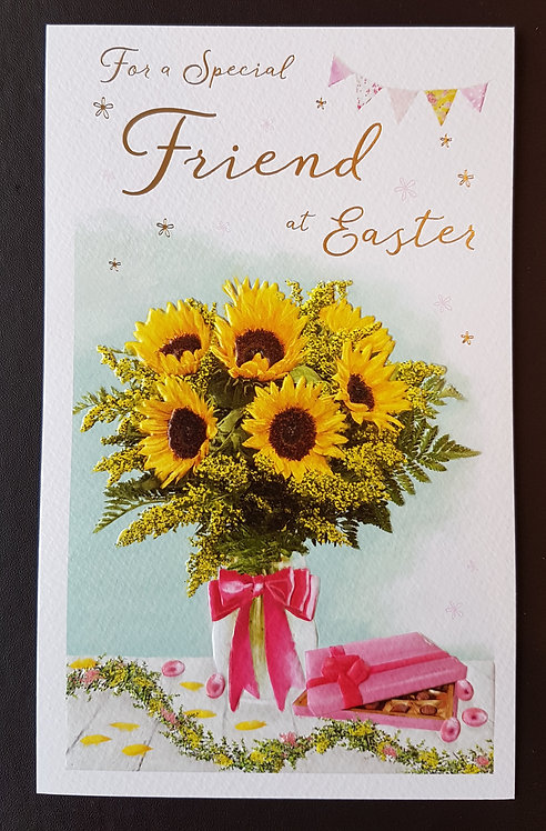 Friend - Easter Greeting Card