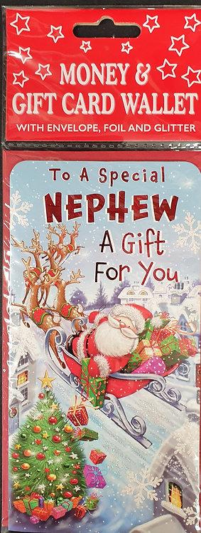 Christmas Money Wallet - Nephew