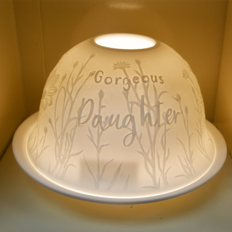 Nordic Light Candle Shade For A Gorgeous Daughter