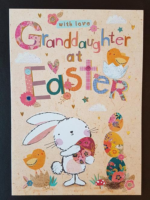 Granddaughter - Easter Greeting Card