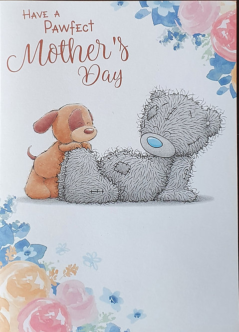 From The Dog -  Mother's Day Greeting Card, Me to You