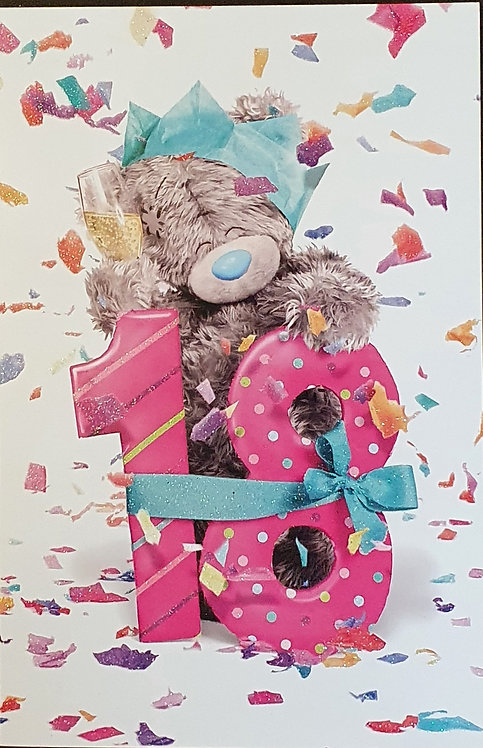 18th Female Birthday Card - Me to You