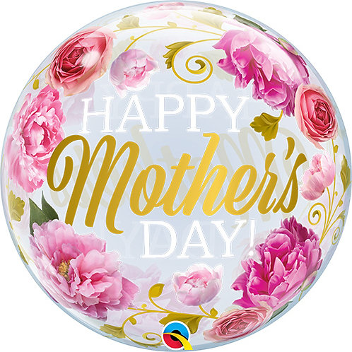 "22"" Mother's Day Bubble Balloon - Helium Filled"
