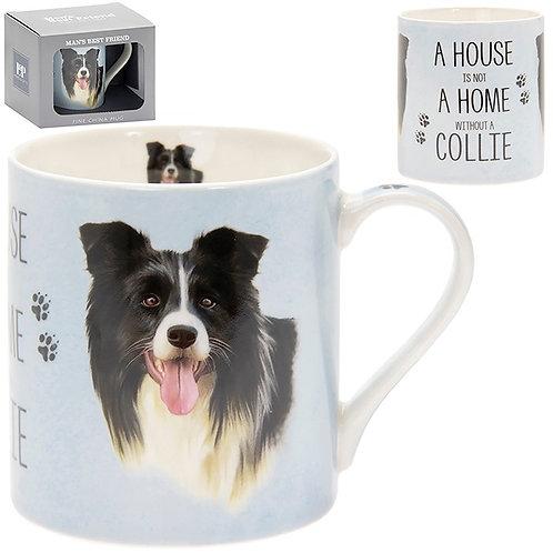 House and Home Fine China Mug - Collie