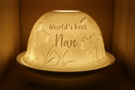 Nordic Light Candle Shade For The World's Best Nan