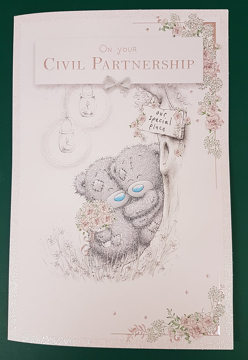 Civil Partnership, Me to You Greeting Card