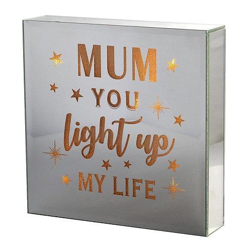Light Up Block - Mum