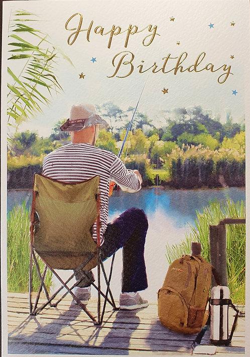Male Birthday Greeting Card